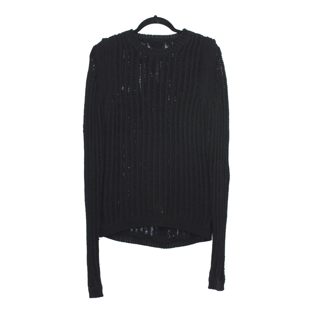 Rick Owens Fisherman cable-knit sweater Small