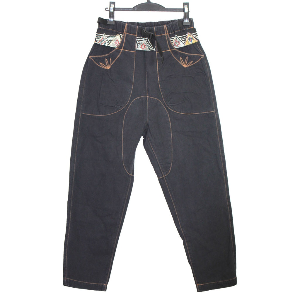 Kapital embroidered/belted utility pants 30