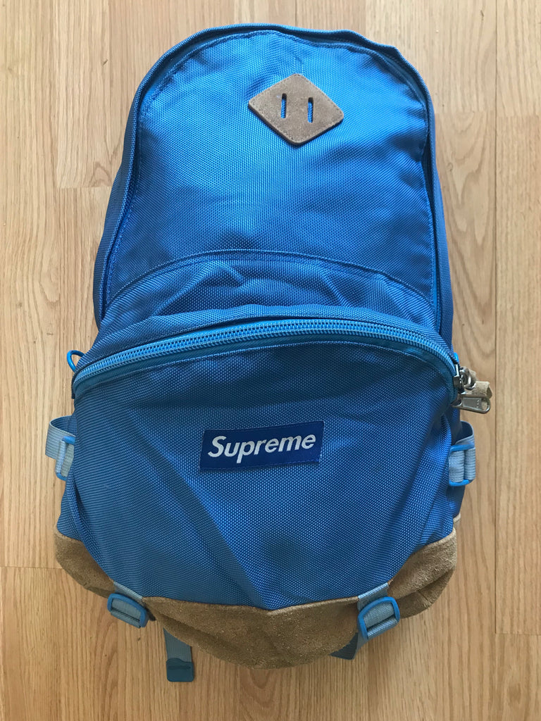 Supreme Blue Backpack 2006