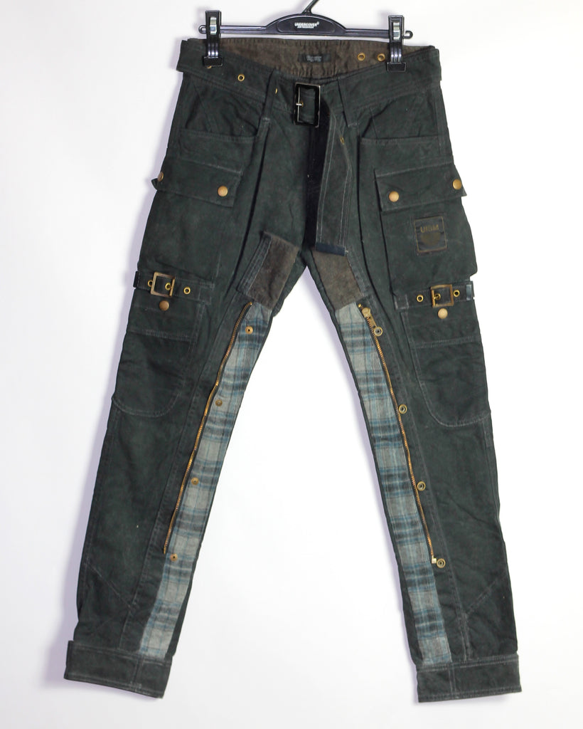 Undercoverism oiled/waxed bikers A/W08 2