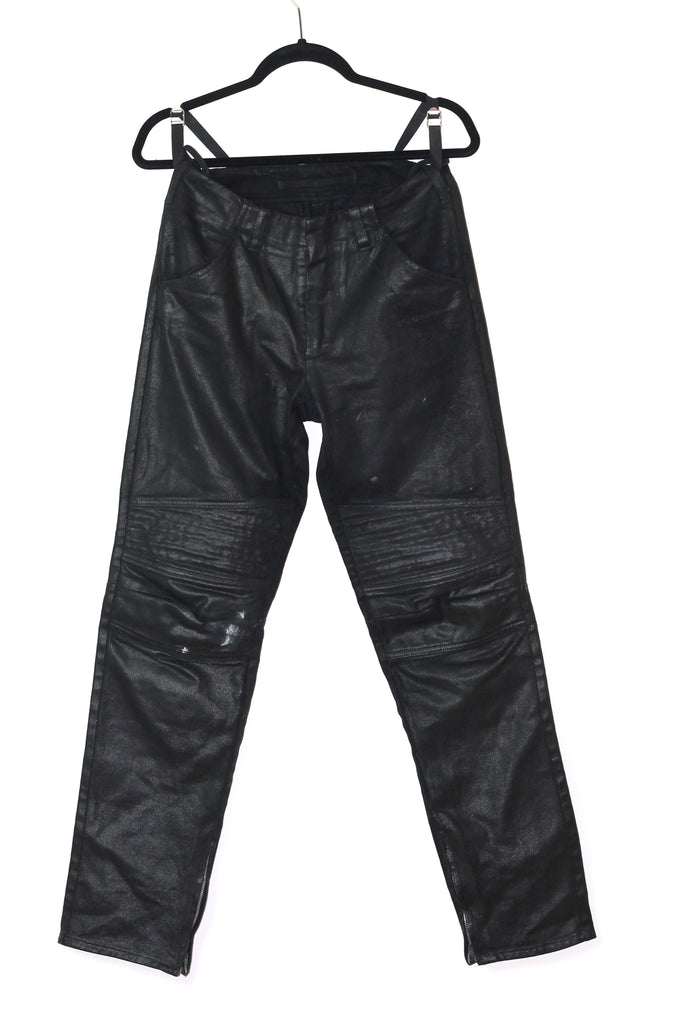 Helmut Lang Waxed Biker Denim 1999 (US 31)