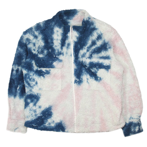 The elder statesmen tie dye fleece resort 2019 Medium