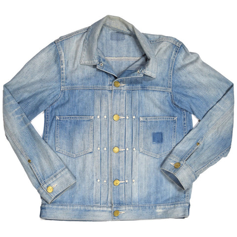 Neighborhood japan washed denim trucker Small