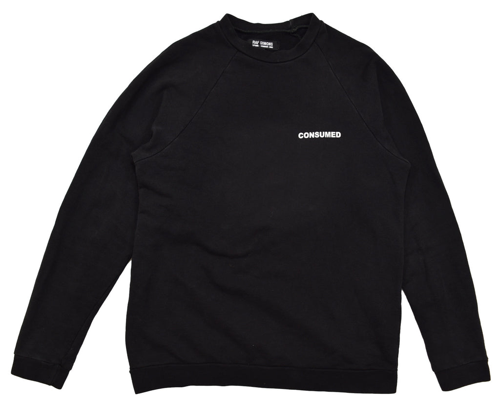 "INQUIRE Raf Simons ""Consumed"" crewneck S/S03 48/medium"