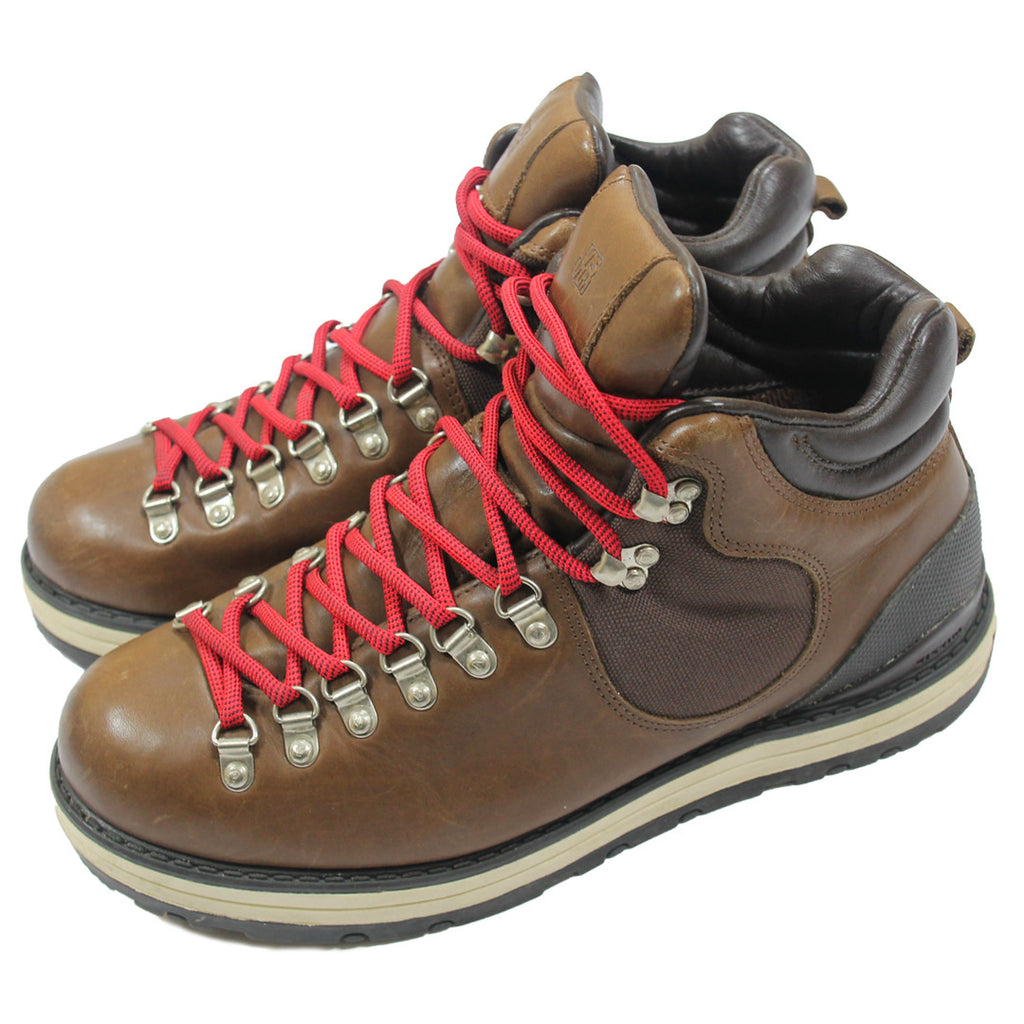 Visvim serra brown with red laces 10
