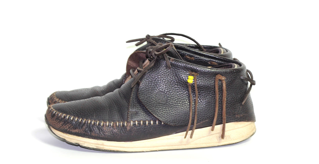 Visvim pebbled leather FBT 9