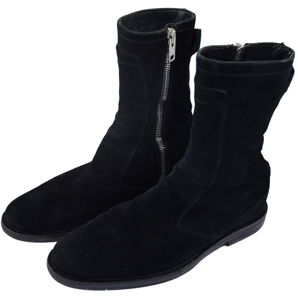 "Dior Homme suede boots A/W04 ""Victim Of The Crime"" 11"