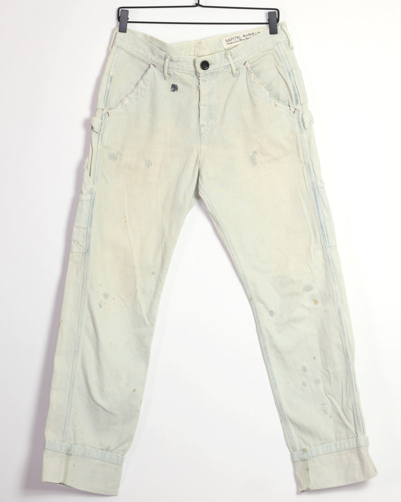 Kapital distressed carpenter denim 31