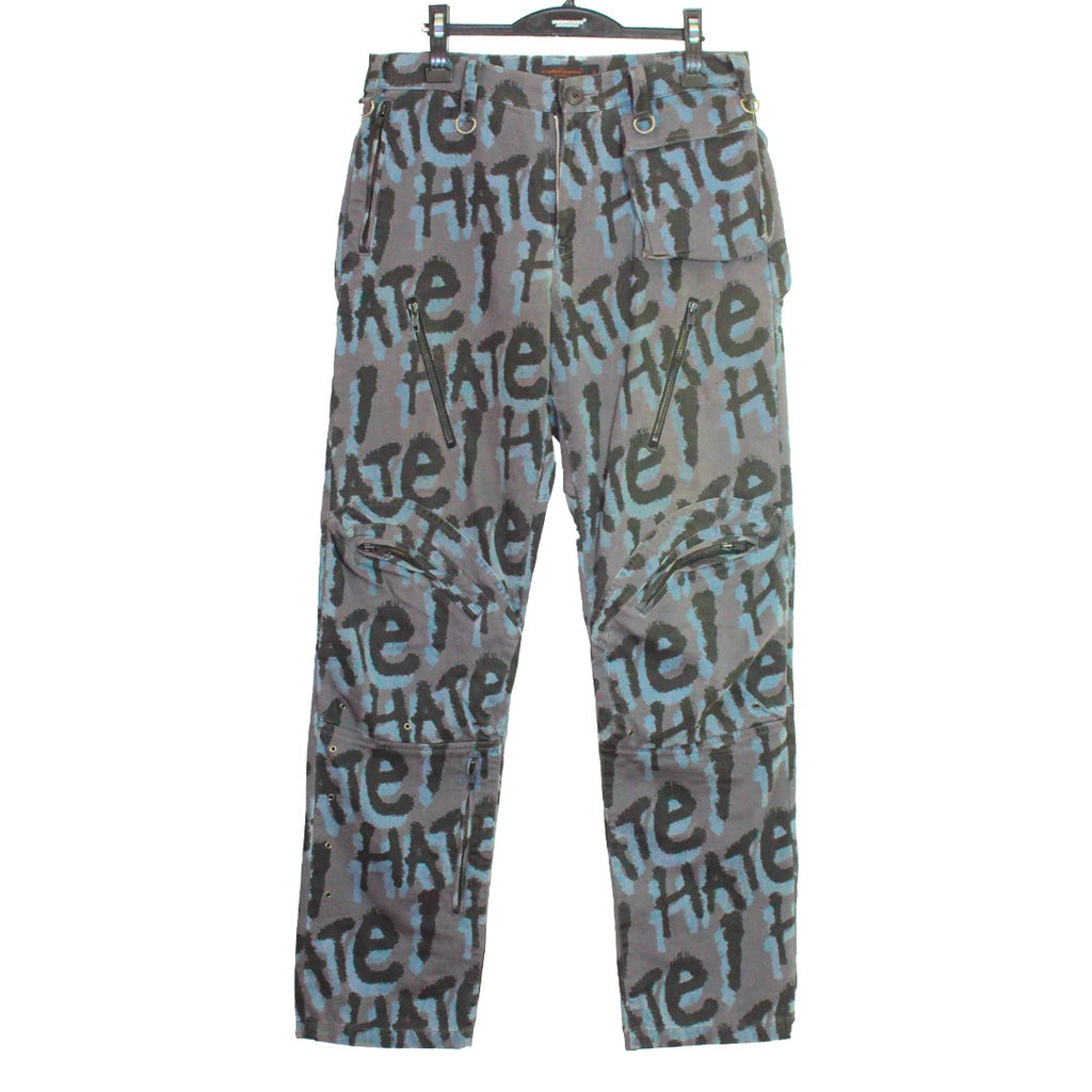 "Undercoverism Hate Camo Cargos 03 ""paper doll"" Large"