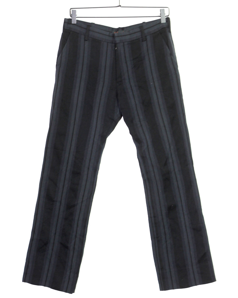 Undercoverism silk lined striped trousers Large 31/32