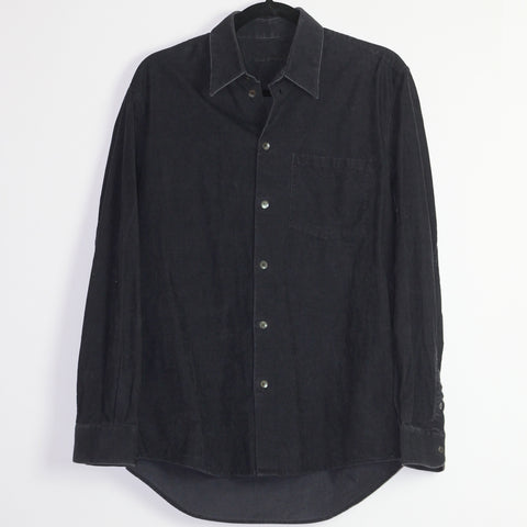 Helmut Lang corduroy button up A/W04 Medium