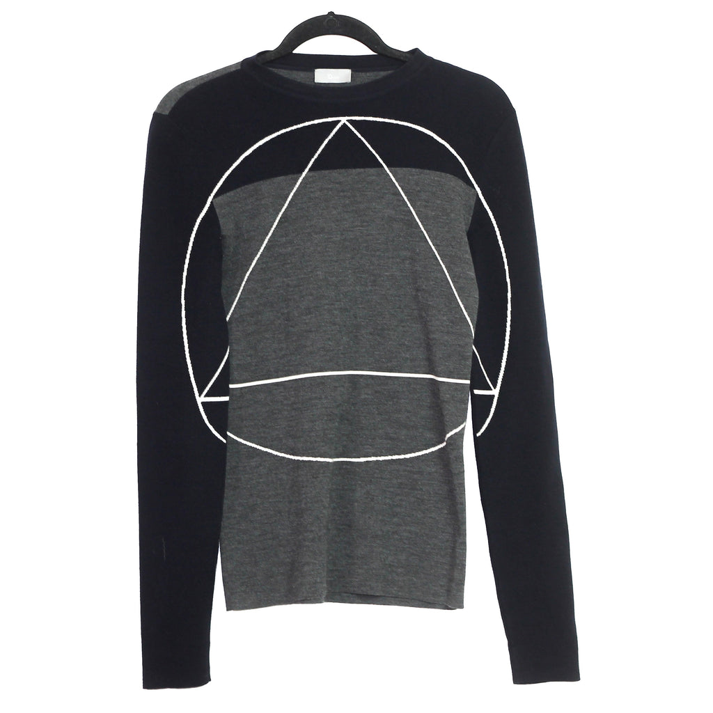 Dior Homme geometric sweater S/S13 Small