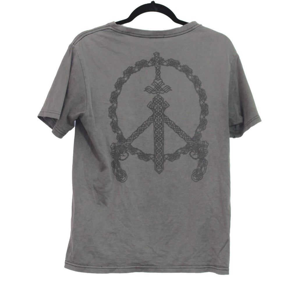 Number Nine Sword/Gun peace sign t-shirt Medium/2