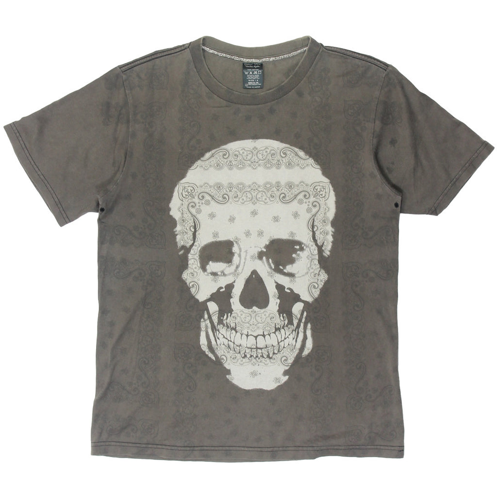 Number (N)ine paisley skull t-shirt size 2