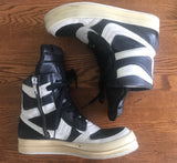 Rick Owens black/white dunks 43