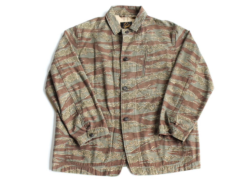 Number (N)ine X Needles Tiger Camo Overcoat XL