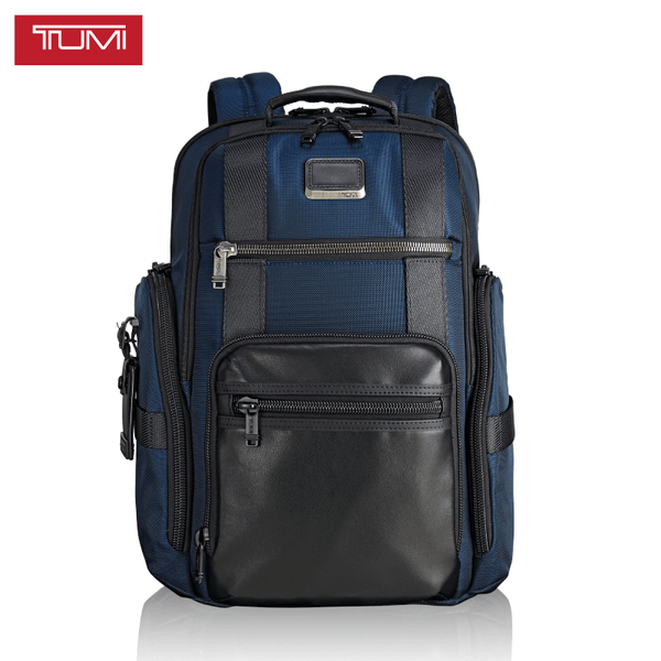 TUMI 0232389NVY SHEPPARD DELUXE BRIEF 103293-1596