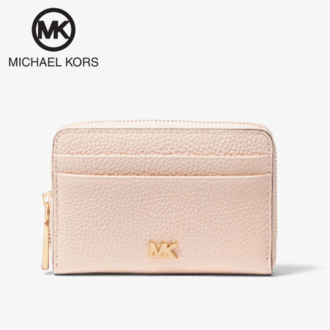 Michael Kors - Mott Small Leather Wallet / Coin Card Case - Soft Pink (34F9GF6Z1L-187)