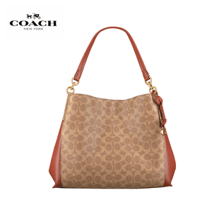 Coach - Dalton 31 In Signature Canvas Shoulderbag - Tan / Rus / Brass
