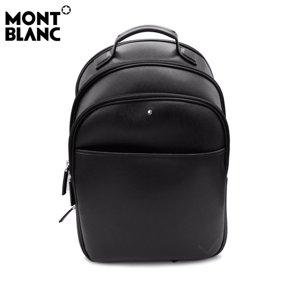 Montblanc - Sartorial Small Black Italian Calfskin Leather Backpack - Black (114584)