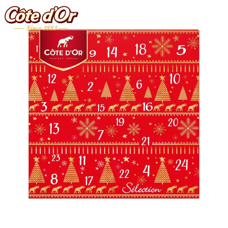 Côte d'Or Chocolade Adventskalender 235g