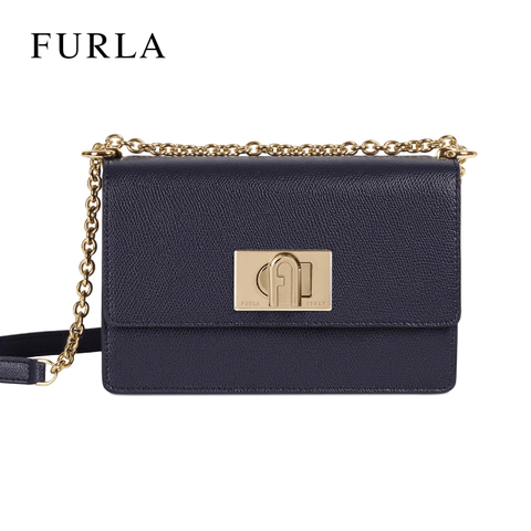 Furla Furla 1927 Mini Crossbody Leather Bag - Occeano