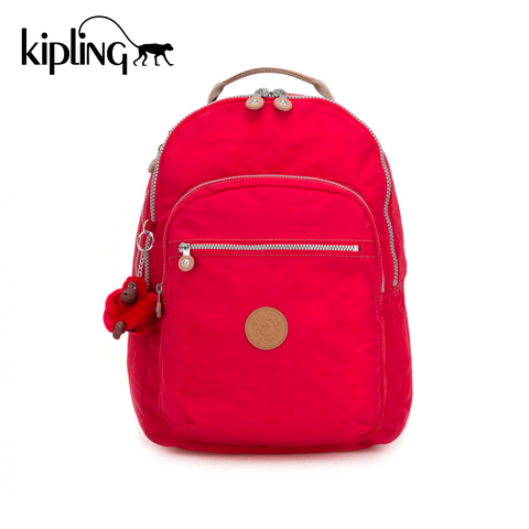 Kipling Clas Seoul Backpack - True Red C
