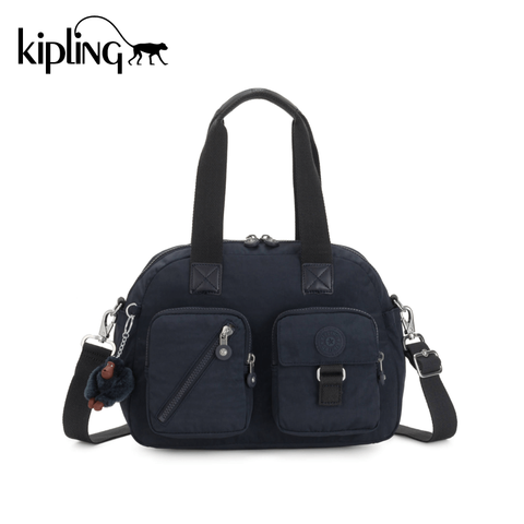 Kipling Defea Up Shoulder Bag - True Navy