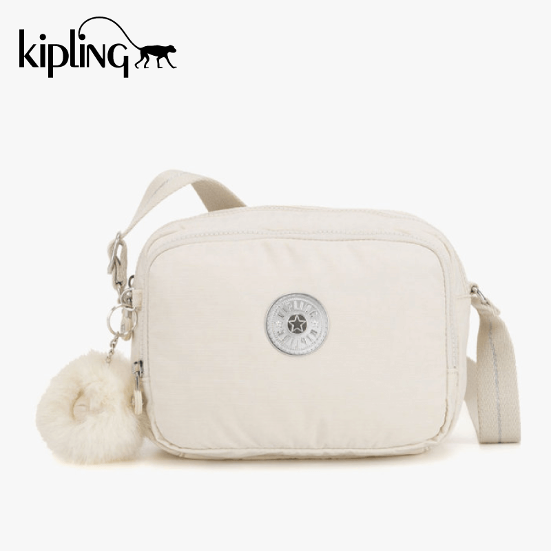 Kipling Silen Crossbody Bag - Dazz White