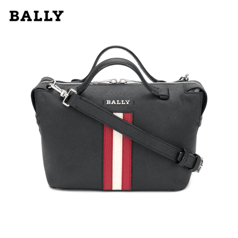 Bally - Supra Bowling Small Women's Bag / Calf Leather / Crossbody Bag / Handbag - Black