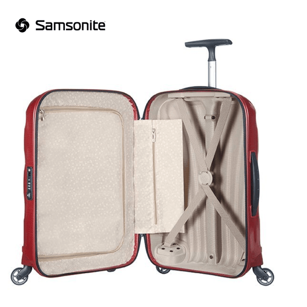Samsonite - Cosmolite Spinner Suitcase (Hand Luggage) 55 cm 36 liters - Red