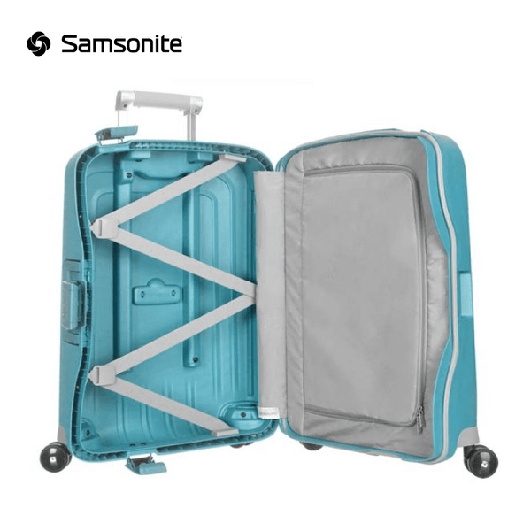 Samsonite - S'Cure Spinner Suitcase (Hand Luggage) 55 cm 34 liters - Aqua Blue