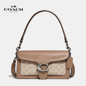 Coach - Tabby Shoulder Bag 26 With Signature Canvas