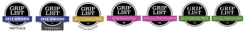 CBJ Grip List awards we have won