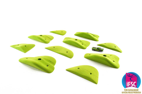 Brushed Sandstone Mega Jibs Set 3 - Sloper Kaiju Blockers - KX077 (4-6)