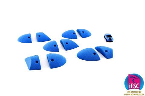 Brushed Sandstone Mega Jibs Set 2 - Brushed Plate Slopers - KX070