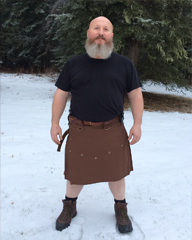 Customer  - Jerry Bolz - 10 oz Lightweight Kilt