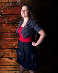 Customer Tiffeny Thompson - Hidden Crest Pub Kilt Gunn Tartan