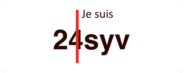 Radio24syv Bilstreamer : Je Suis Radio24syv (transparent folie)