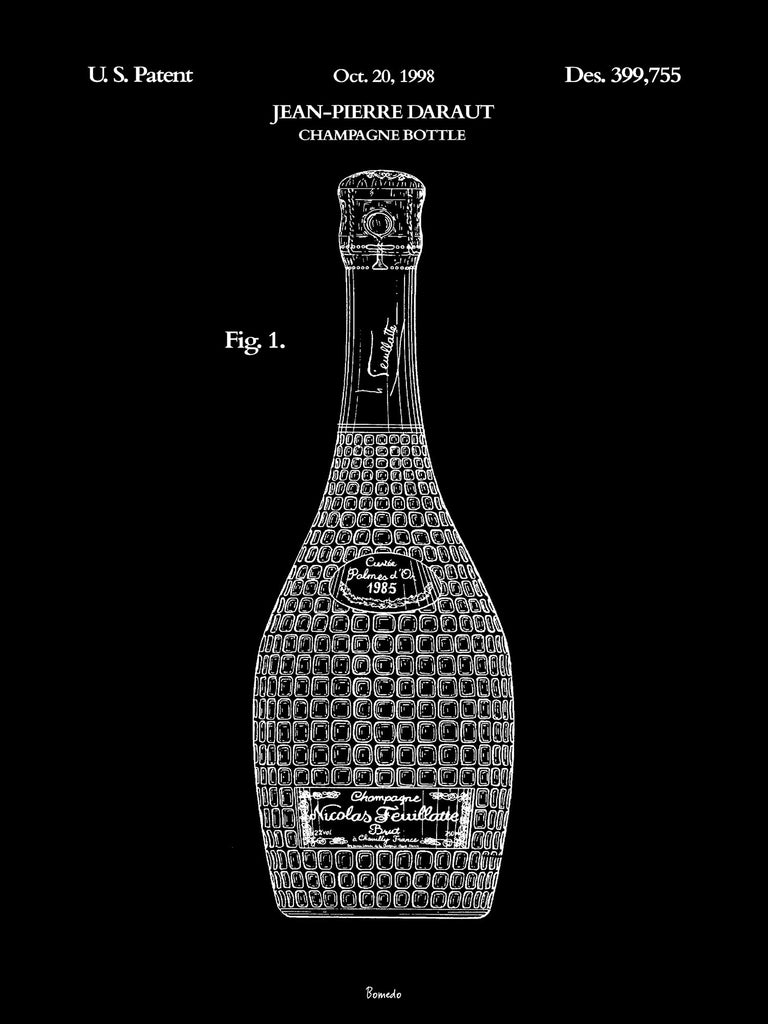 Black Edition - Champagne Bottle