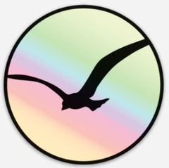 PBV HOLOGRAPH STICKER |  Soaring Bird Collection