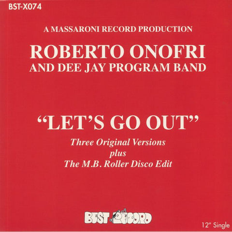 ROBERTO ONOFRI & DJ PROGRAM BAND | Let's Go Out