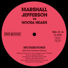 MARSHALL JEFFERSON VS NOOSA HEADS | Mushrooms