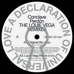 CONCLAVE | Perdon *The Louie Vega Rmxs*