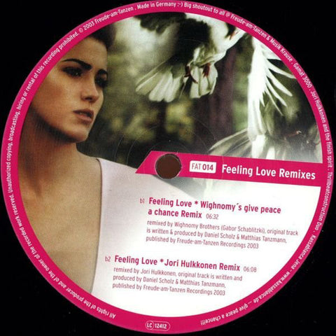 Gamat 3000 | Feeling Love (Remixes)