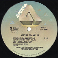 ARETHA FRANKLIN | Get It Right
