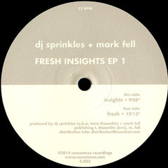 DJ Sprinkles + Mark Fell | Fresh Insights EP 1