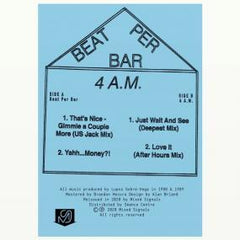 BEAT PER BAR / 4 AM | That's Nice
