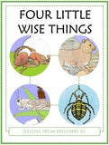 Four Little Wise Things