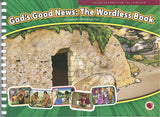 God's Good News the Wordless Book Flashcards and Lesson
